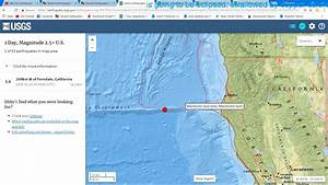 Breaking News. M5.8 Earthquake Northern California 1/25 ...