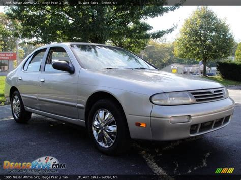 1995 Nissan Altima by 1995 Nissan Altima Gxe Beige Pearl Photo 8