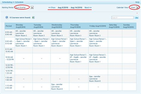 Monthly Staffing Schedule Template by How To View Daily Weekly Or Monthly Schedule Os4ed