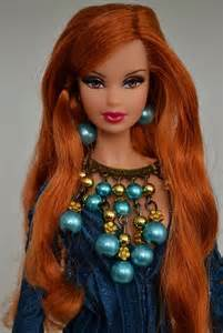 Beautiful Red Hair Barbie Dolls