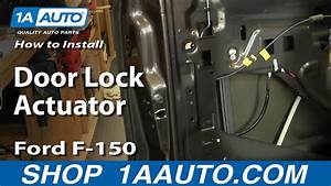 How To Install Replace Door Lock Actuator Ford F