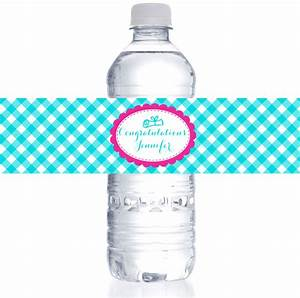 personalized gingham water bottle labels for graduation With cheap waterproof water bottle labels