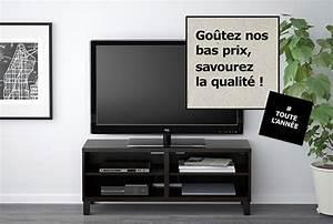 Meuble Tv Noir Ikea : meuble tv laque noir ikea maison design ~ Teatrodelosmanantiales.com Idées de Décoration