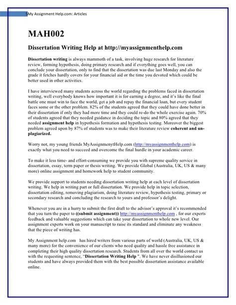 Best Dissertation Hypothesis Advice by Dissertation Do My Assignment Write My Papers