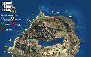 GTA 5 All Collectible Locations
