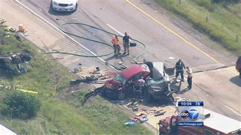 4 dead in I-55 crash at Arsenal near Channahon caused by ...