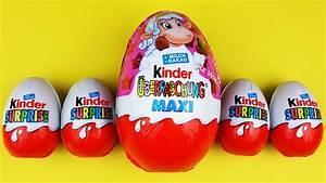 Kinder überraschung Maxi : 5 kinder surprise eggs opening kinder berraschung maxi kinder toys polly pocket toys youtube ~ Eleganceandgraceweddings.com Haus und Dekorationen