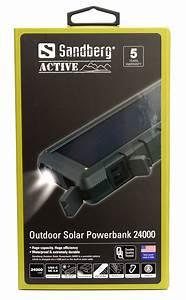 Solar Powerbank Test : test sandberg outdoor solar powerbank 24000 ~ Kayakingforconservation.com Haus und Dekorationen