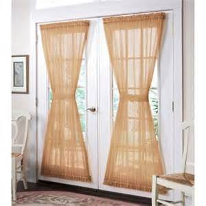 brylanehome 174 studio sheer voile door panel curtains drapes brylanehome