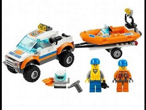 Imagenes De Barcos De Lego by Lego City 4x4 Guardia Costera De Buceo Barco Juguetes