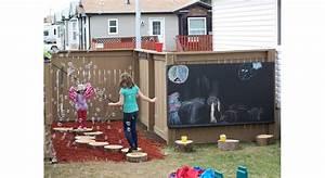 Aire De Jeux Pour Jardin : construire une aire de jeux pour les enfants maison travaux ~ Premium-room.com Idées de Décoration