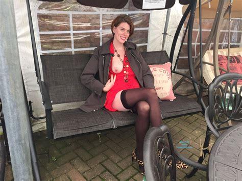 Public Flashing At My Local Garden Centre November Voyeur Web