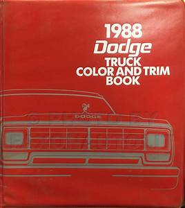 1988 Dodge Ram 50 Truck Repair Shop Manual Original 2