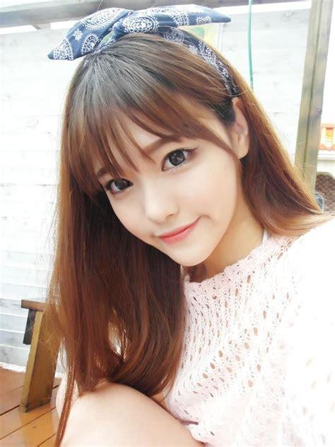 uhljjxng photo   korean bangs hairstyle