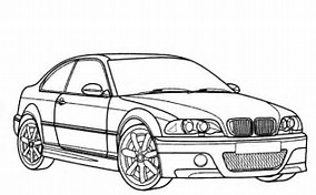 HD Wallpapers Coloring Pages Of Bmw Cars