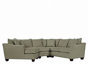Foresthill 4 pc microfiber sectional sofa olive green for 4 pcs sectional sofa