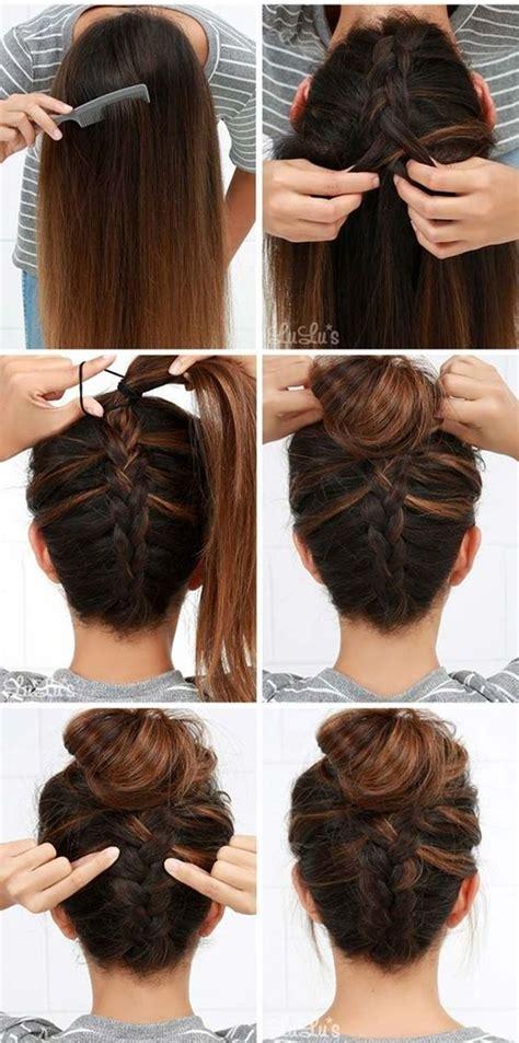 easy step  step hairstyles  girls