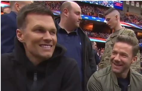 What Tom Brady Actually Said While Sitting Courtside With ...