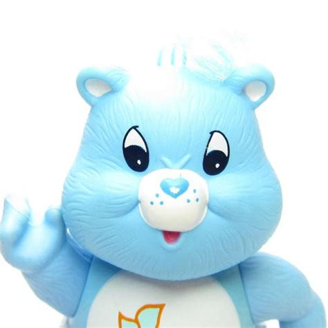 baby tugs bear blue vintage care bears poseable