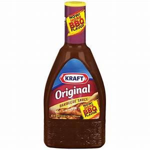 Kraft Barbecue Sauce: Barbecue Sauce Original, 40 Oz ...