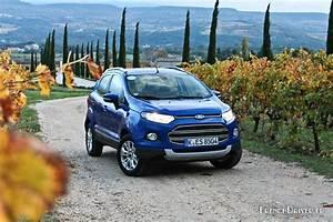 Ford Ecosport Essai : essai du ford ecosport l 39 outsider des petits crossovers french driver ~ Medecine-chirurgie-esthetiques.com Avis de Voitures