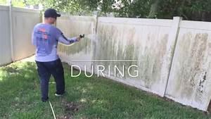 Clean A Vinyl PVC Fence CentraFlo YouTube