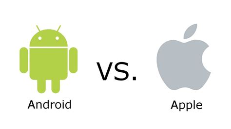 apple vs android ios vs android evolution of design philosophy