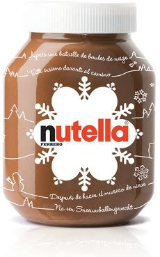 pot de nutella noel nutella marketing