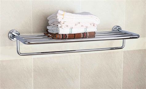 towel rack shelf how should wall mounted towel rack home decorations