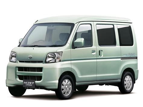 Daihatsu Hijet by Daihatsu Hijet Cargo Hybrid 2006 Pr