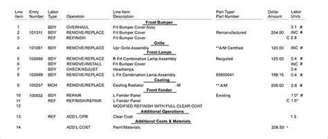Progressive Boat Insurance Renewal by How To Read A Car Repair Estimate Progressive