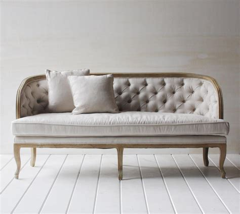 What Is Settee by Tufted Beige Settee Klw Design