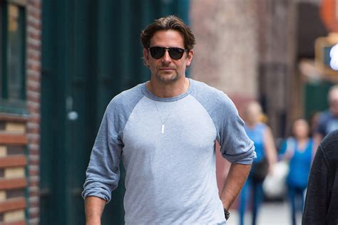 Bradley Cooper Takes A Stroll With His 1yearold Daughter In The West Village