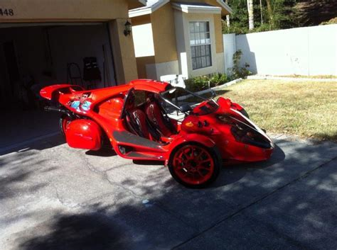 2007 Campagna T-rex Fire Red Custom