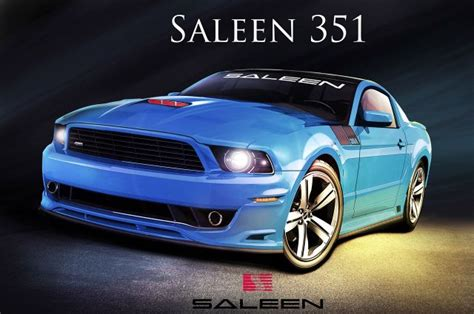 2014 Saleen 351 Mustang Designed By Steve Saleen
