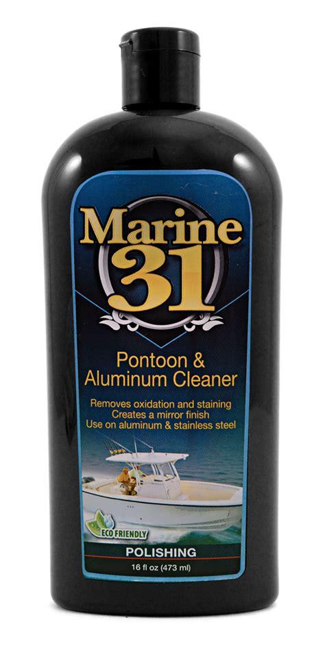 marine  pontoon aluminum cleaner