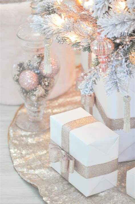 karas party ideas blush pink vintage inspired tree