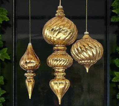 outdoor oversized ornaments potterybarn christmas is