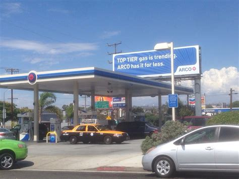 arco gas station gas service stations los angeles