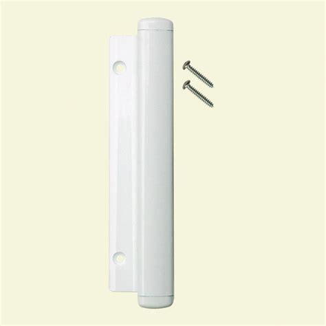 lockit sliding glass door lock lockit white sliding door handle 200200200 the home depot