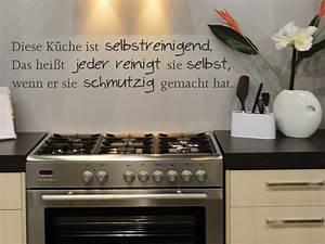 Wandtattoo Küche Bilder : wandtattoo diese k che ist selbstreinigend ~ Sanjose-hotels-ca.com Haus und Dekorationen