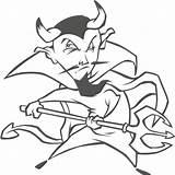Spear Demon Coloring Printable sketch template