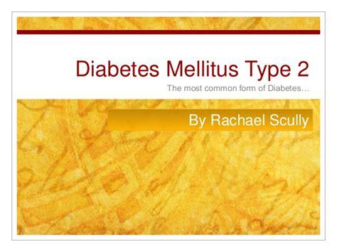 Rachael Diabetes Type 2
