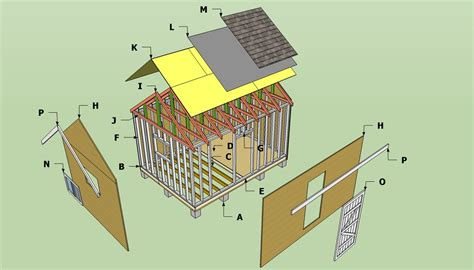 12 x 10 shed plans free design for shed