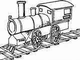Train Coloring Pages Printable Craft sketch template