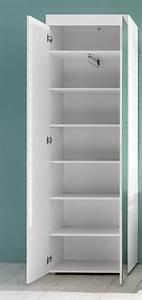 Garderobenschrank Weiß Hochglanz : garderobenschrank wei hochglanz ~ Indierocktalk.com Haus und Dekorationen