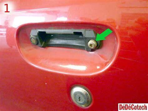 demonter une poignee de porte remplacement d une poign 233 e ext 233 rieure de porte avant citro 235 n