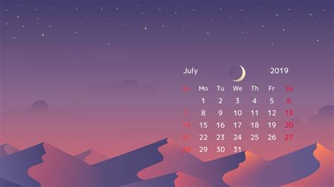 july  calendar desktop wallpapers calendar wallpaper