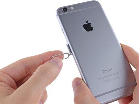 iphone 6 sim iphone 6 sim card replacement ifixit
