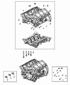 2014 Jeep Grand Cherokee Block  Engine Cylinder   Euro Stage 4 Emission Vehicle